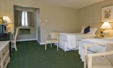 2 Double Beds with Back Window